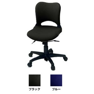 【プラス】オーバル(ローバック) 肘なし オフィスチェア|officemarket