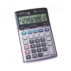 【キャノン Canon】 電卓 ミニ卓上タイプ (12桁) KS-1200TU officemarket