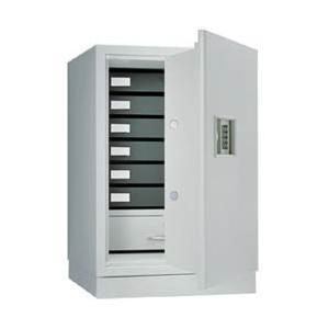 1時間耐火合格品 耐火金庫 プッシュボタン錠 officemarket