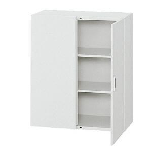 【プラス】両開き保管庫 省スペース型 高さ1050mm|officemarket