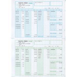 【封筒】給与・賞与明細書(封筒型) 100枚|officemarket