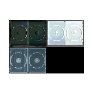 DVDトールケース 2枚収納 14mm (良品質) 100枚