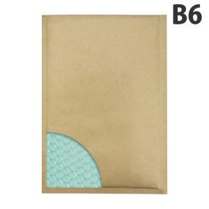 あんしん封筒 セフティライト 茶色 B6サイズ 1枚(両面テープ付) クッション封筒 officetrust