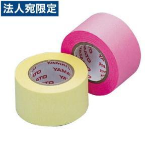 メモックロールテープ 蛍光カラー 詰替用 25mm×10m×2巻 ローズ&レモン officetrust