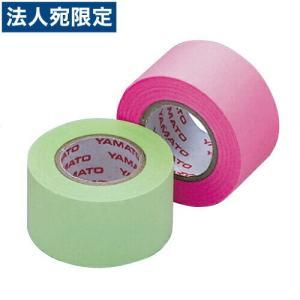 メモックロールテープ 蛍光カラー 詰替用 25mm×10m×2巻 ローズ&ライム officetrust