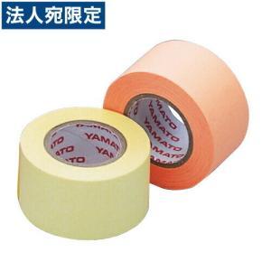 メモックロールテープ 蛍光カラー 詰替用 25mm×10m×2巻 レモン&オレンジ officetrust