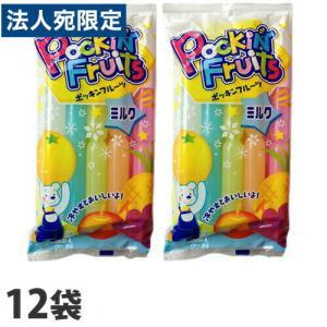 マルゴ ポッキンフルーツミルク 10本入×12袋 チューペット 棒ジュース ジュース アイス ポッキンアイス おやつ|officetrust