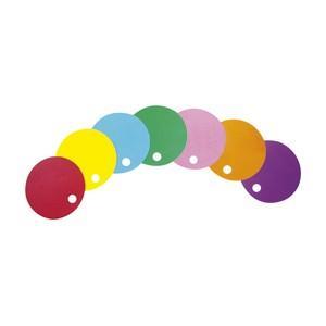 カラフル丸うちわ (同色10枚入り) 色をお選び下さい