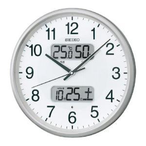 温湿度カレンダー表示付電波掛時計 直径350×...の関連商品4