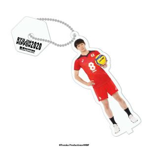台座付きストラップ 2020バレーボール男子日本代表 (柳田将洋 選手)|official-club