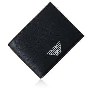 エンポリオアルマーニ 財布 二つ折り財布 メンズ EMPORIO ARMANI Y4R165 YLA...