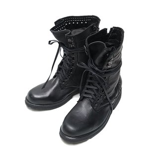 KMRii(ケムリ)-SO-Chrome Boots/ Estoc/BLACK|offside