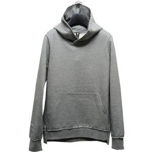 wjk(ダブルジェイケイ)-CK-flat hook pullover parka/t.gray|offside