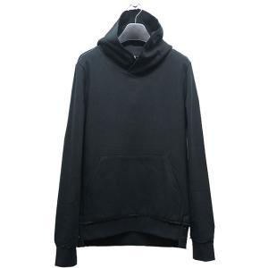 wjk(ダブルジェイケイ)-CK-flat hook pullover parka/black|offside