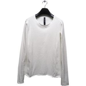 wjk(ダブルジェイケイ)-CK-cut-off neck cut&sewn L/S/white|offside
