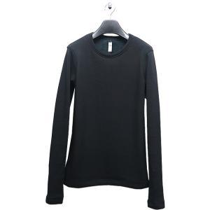 wjk(ダブルジェイケイ)-CK-thumbhole trainer(back boa)/black|offside