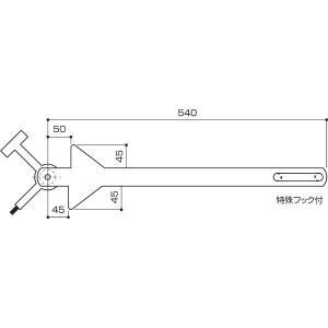 マンホールオープナー NTT専用:T-7B|offsite