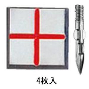 マスターライン M-6 足付5cm 十字 50mm×50mm×4mm:M-6|offsite