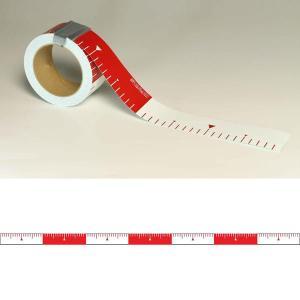 ユポロッド 20cm毎赤白 幅50mm:YR502|offsite