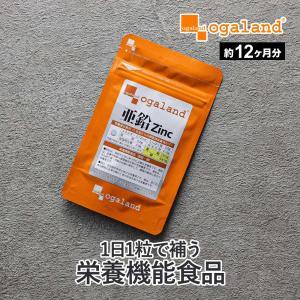 亜鉛 サプリメント サプリ ミネラル エイジングケア 約1年分 栄養機能食品 送料無料