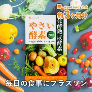 酵素 やさい酵素 サプリメント ダイエット サプリ 生酵素 約3ヶ月分 野菜 野草 こうそ 熟成 オーガランド 送料無料 _ZRB