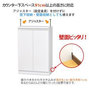 カウンター下収納 DX(奥行28.5 高さ90)・60扉タイプ キッチンカウンター下収納 ogamoku 03