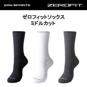イオンスポーツ ゼロフィット(ZERO FIT) ミドルカット ソックス【男女兼用】 SRM|ogawagolf