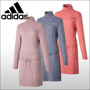 【60%OFF クリアランスセール】 アディダスゴルフ (adidas) JP adicross タートルネックニットドレス レディース|ogawagolf