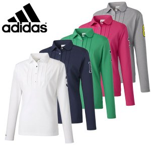【50%OFFセール】 アディダスゴルフ (adidas Golf) JP SP フロントタック PRO SELECT L/S シャツ レディース 2016秋冬/2016AWap_SALE|ogawagolf
