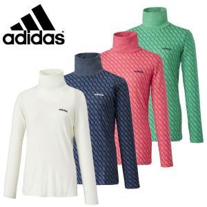 【50%OFFセール】 アディダスゴルフ (adidas Golf) JP SP ジャカードモックネックシャツ レディース 2016秋冬/2016AWap_SALE|ogawagolf