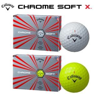 キャロウェイ (Callaway) CHROME SOFT X (クロム ソフト エックス) 2017年モデル ゴルフボール 1ダース 12球入り 2017年 日本正規品 ogawagolf