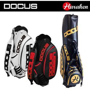 ドゥーカス (DOCUS)  HARAKEN(ハラケン) プレミアムキャディバッグ ツアーカートキャディバッグ 10インチ DOCUS Tour Model Caddie Bag 【世界限定190本】|ogawagolf