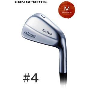 イオンスポーツ (EON SPORTS) ツアープライド Mシリーズ  M1フォージド アイアン 4番アイアン 単品 受注生産|ogawagolf