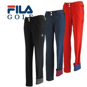 【50%OFFセール】 フィラゴルフ (FILA GOLF) ストレッチパンツ レディース 2016秋冬/2016AWap_SALE|ogawagolf