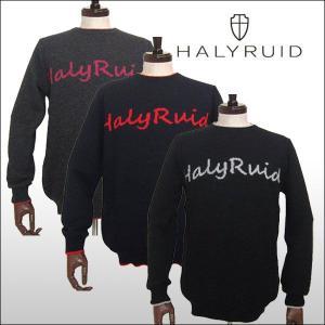 ハリールイド(HALYRUID) ロゴセーター ogawagolf