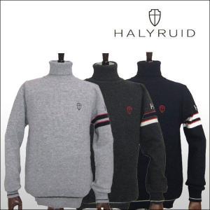ハリールイド(HALYRUID) タートルネックセーター ogawagolf