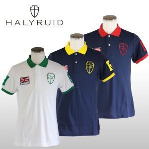 ハリールイド(HALYRUID) BIG HR 半袖ポロシャツ メンズ ogawagolf