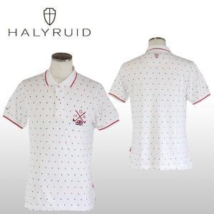 ハリールイド(HALYRUID) ドット 半袖ポロシャツ メンズ ogawagolf