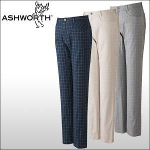 【60%OFF クリアランスセール】 ASHWORTH(アシュワース) 5ポケットグラフチェック ロングパンツ|ogawagolf