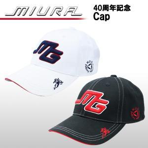 【数量限定】三浦技研 (MIURA GIKEN) コットン キャップ Cap 40周年記念モデル ogawagolf