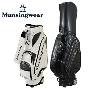 マンシングウェア (Munsingwear) キャスター付き キャディバッグ 9型 47インチ対応 2017年モデル|ogawagolf