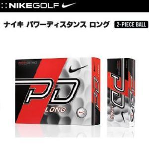 ナイキ (NIKE)ナイキゴルフ  パワーディスタンス ロング POWER DISTANCE LONG ゴルフボール 1ダース 日本正規品 SRM