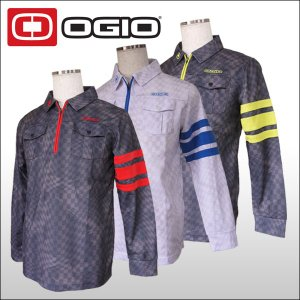 【60%OFF クリアランスセール】 オジオ (OGIO) ハーフジップ 長袖ポロシャツ メンズ|ogawagolf