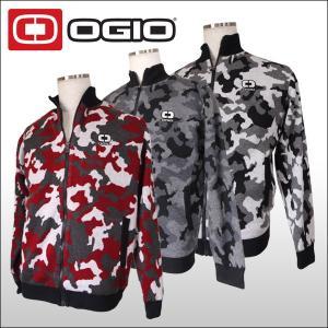 【60%OFF クリアランスセール】 オジオ (OGIO) フルジップ カモ柄ニットブルゾン メンズ|ogawagolf