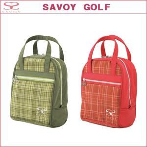 SAVOY (サボイ) シューズケース レディース SCL7002 SAVOY GOLF サボイゴルフ ダイヤ SRM|ogawagolf