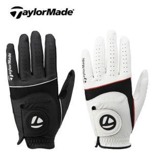 【DM便対応】 テーラーメイド (Taylor Made) ニュー スポート ゴルフグローブ 左手用 メンズ【DM便対応】 SRM|ogawagolf