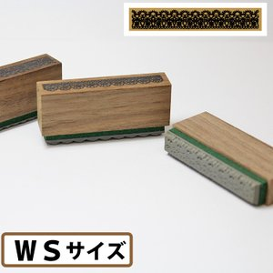アンティーク風レーススタンプWSサイズ アンティーク スタンプ/手芸 手作り/に一押しすればかわいくな|ogawahan