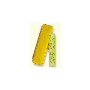 風水印鑑 四ツ葉のクローバー 黄 12mm  サニーケース金わくセット 印鑑 実印 銀行印 はんこ|ogawahan