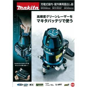マキタ 充電式屋内・屋外兼用墨出し器 フルライン SK505GDZ|ogihara-k
