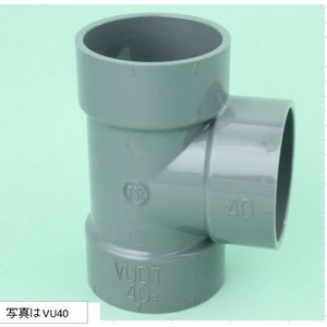 東栄管機 VU継手 VU50 90°Y チーズ 50個入|ogihara-k